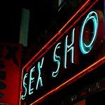 Panneau Neon Sex Shop